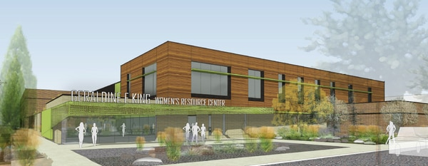 (Courtesy of Shelter the Homeless) An early design concept, produced by Salt Lake City-based ajc architects, for a new homeless shelter at 131 E. 700 South that will serve women.