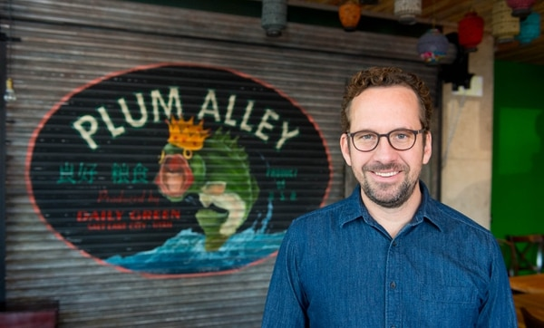 (Trent Nelson | Tribune file photo) Ryan Lowder, owner and chef of the Copper Onion and Copper Kitchen, is pictured at another of his restaurants, Plum Alley, Friday, Jan. 24, 2014, in Salt Lake City.