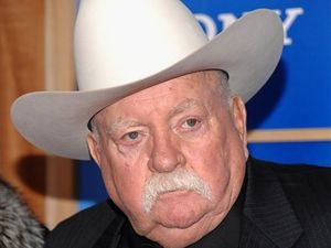 "(Evan Agostini | AP file photo ) Actor Wilford Brimley attends the premiere of ""Did You Hear About The Morgans"" at the Ziegfeld Theater in New York in 2009. The veteran actor has died at the age of 85."
