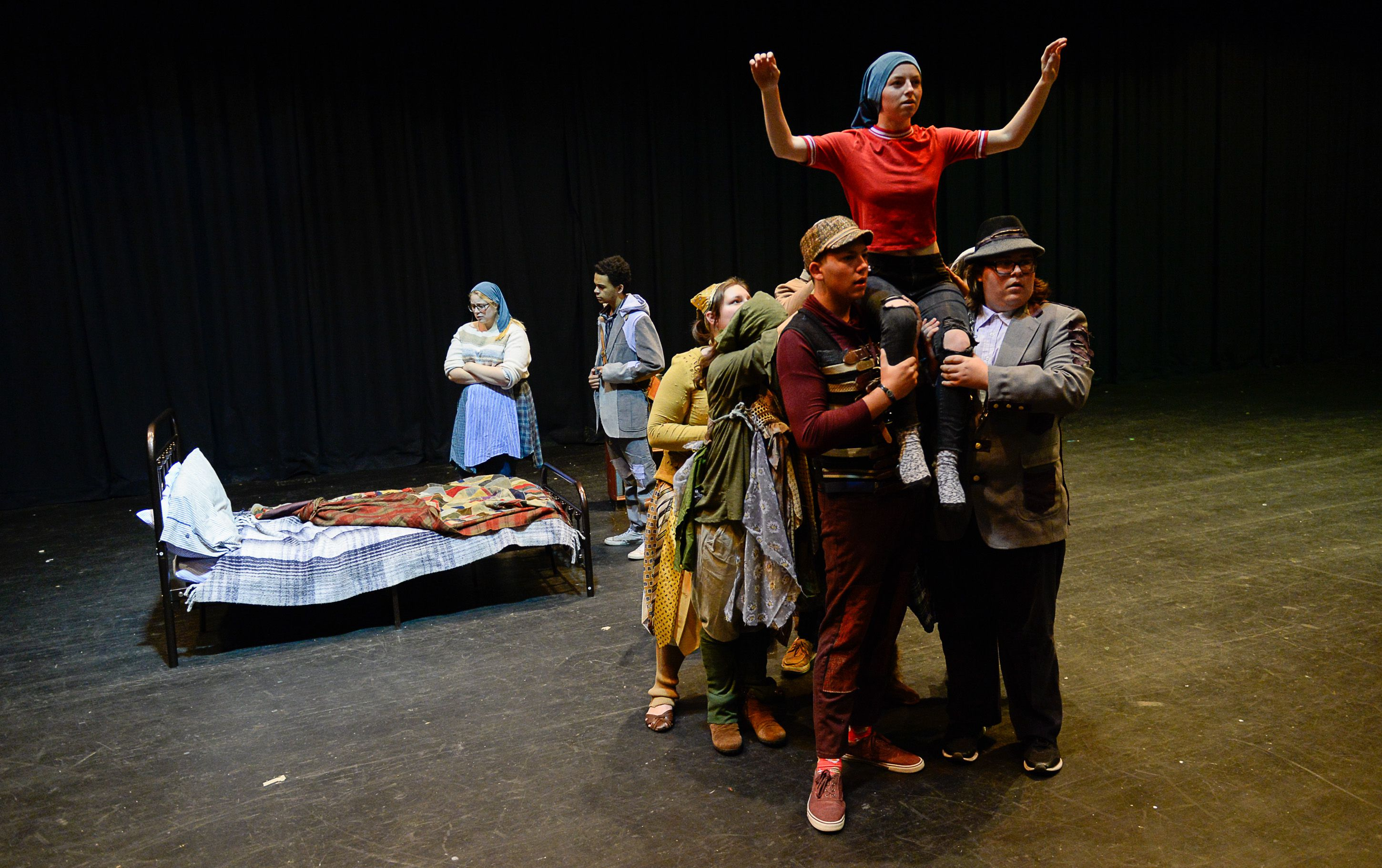 This 1912 play once comforted children facing death. Now Utah students will
