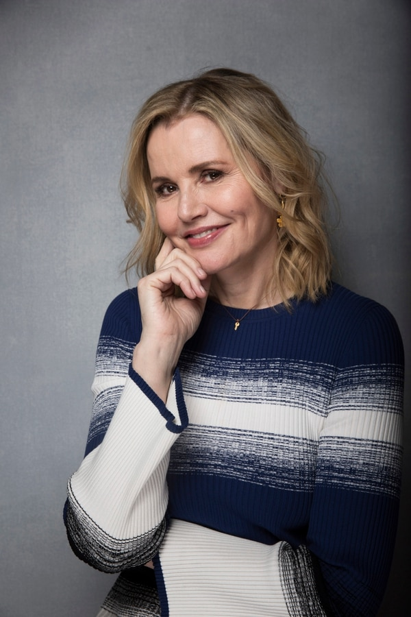 Actress Geena Davis poses for a portrait to promote the film,