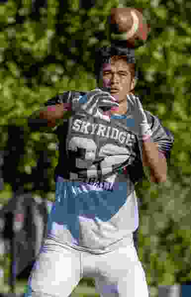 Skyridge's Ma'a Notoa excels after returning from severe knee injury