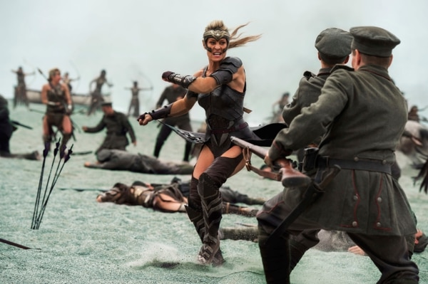 This image released by Warner Bros. Entertainment shows Robin Wright in a scene from