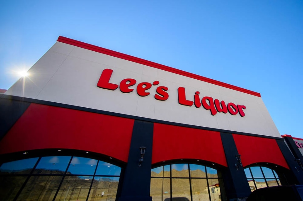 (Trent Nelson | The Salt Lake Tribune) Lee's Discount Liquor store in West Wendover, Nev., is pictured on Tuesday, Nov. 7, 2017. It is the 22nd — and largest — store for the large liquor retailer at 30,000 square feet. The Wendover store is surely a temptation for Utah consumers as it carries 6,000 different types of products at lower prices than Utah liquor stores. But it is illegal to bring booze across state lines.