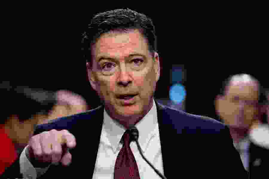 GOP campaign seeks to brand ex-FBI director Comey a liar as he touts book critical of Trump