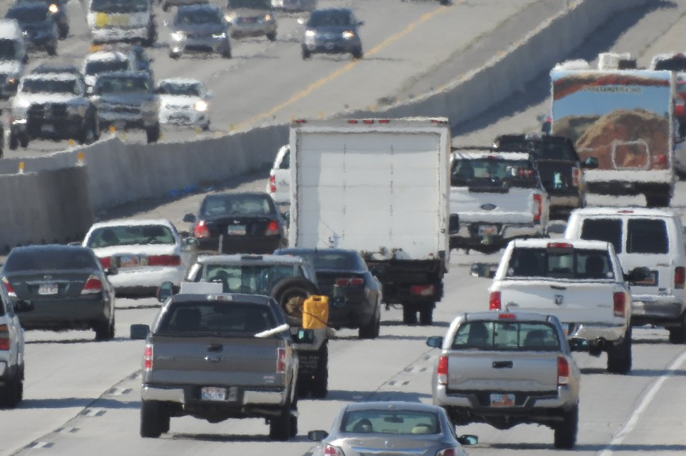 Francisco Kjolseth | The Salt Lake Tribune Utah is currently experiencing the worst summer air quality in nearly ten years, largely due to a persistent high pressure system that has parked over the Wasatch Front. The summer equivalent of an inversion is not as obvious to spot but the high ozone levels are there none the less.