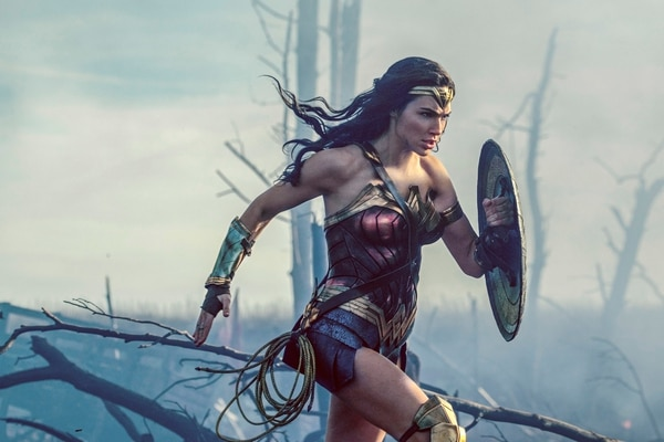 This image released by Warner Bros. Entertainment shows Gal Gadot in a scene from