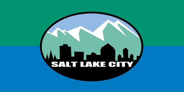 Salt Lake City's flag