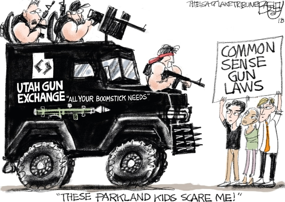 This Pat Bagley cartoon appears in The Salt Lake Tribune on Wednesday, July 11, 2018.