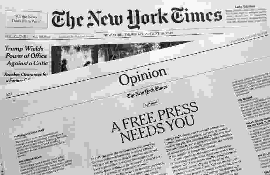 Leonard Pitts: Trump's anti-journalism hit squad
