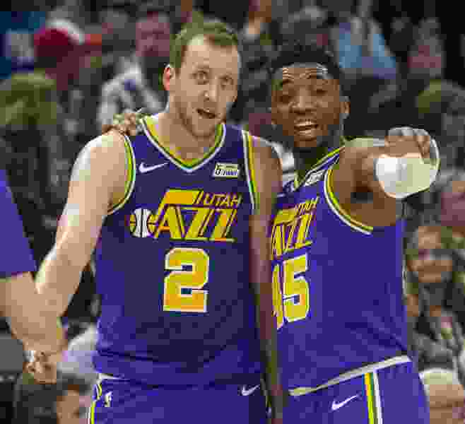 Can Donovan Mitchell learn from Joe Ingles' pick and roll game, or are they too different?