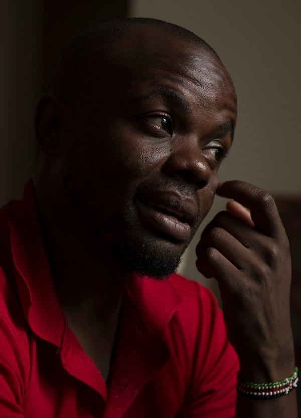 (Leah Hogsten | The Salt Lake Tribune) In his native Uganda, a place where being gay can send you to prison, Appollo Kimuli risked his life as an advocate for AIDS education and equality for the LGBTQ community. Threatened with death, he fled and spent a year in refugee camps before resettlement in Utah. Kimuli is using the Internet to continue his activism for others in Africa's LGBTQ community.