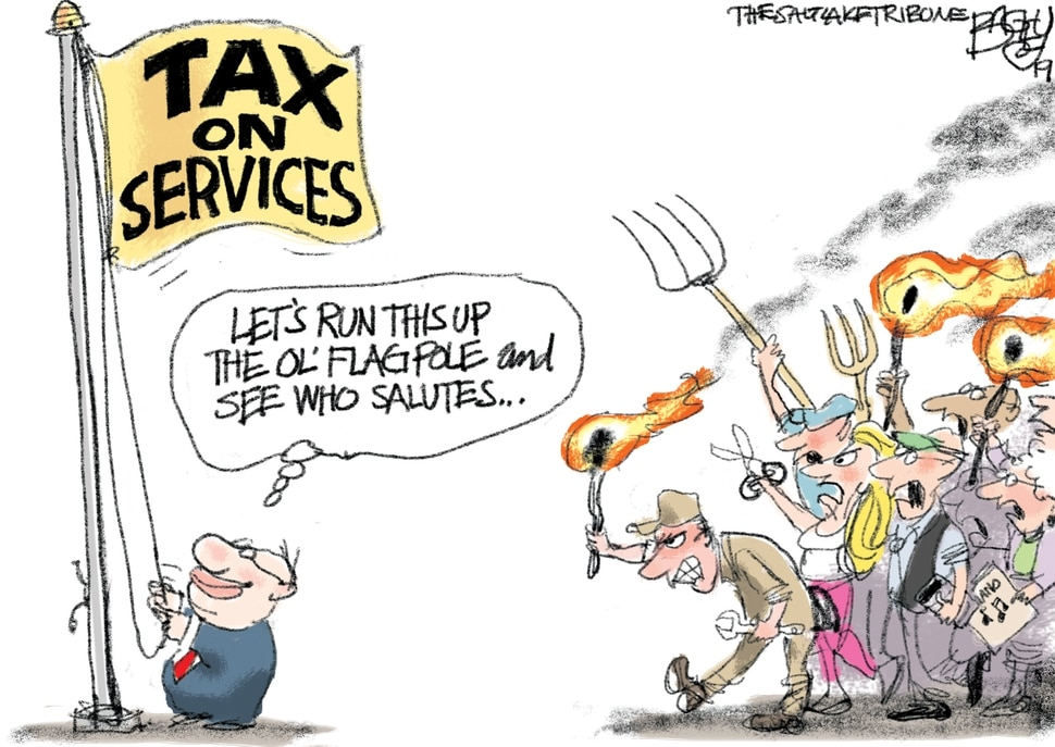 This Pat Bagley cartoon appears in The Salt Lake Tribune on Sunday, March 10, 2019.