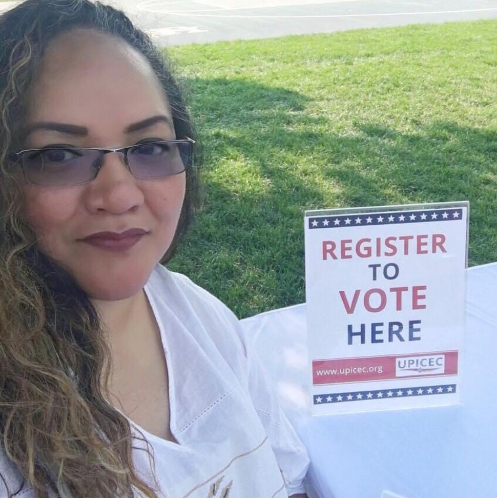 (Photo courtesy of Amber Sundin DeBirk) Margarita Satini, who died Oct. 27, 2020, of COVID-19 complications, encouraged Utahns to vote and participated in the 2020 census.