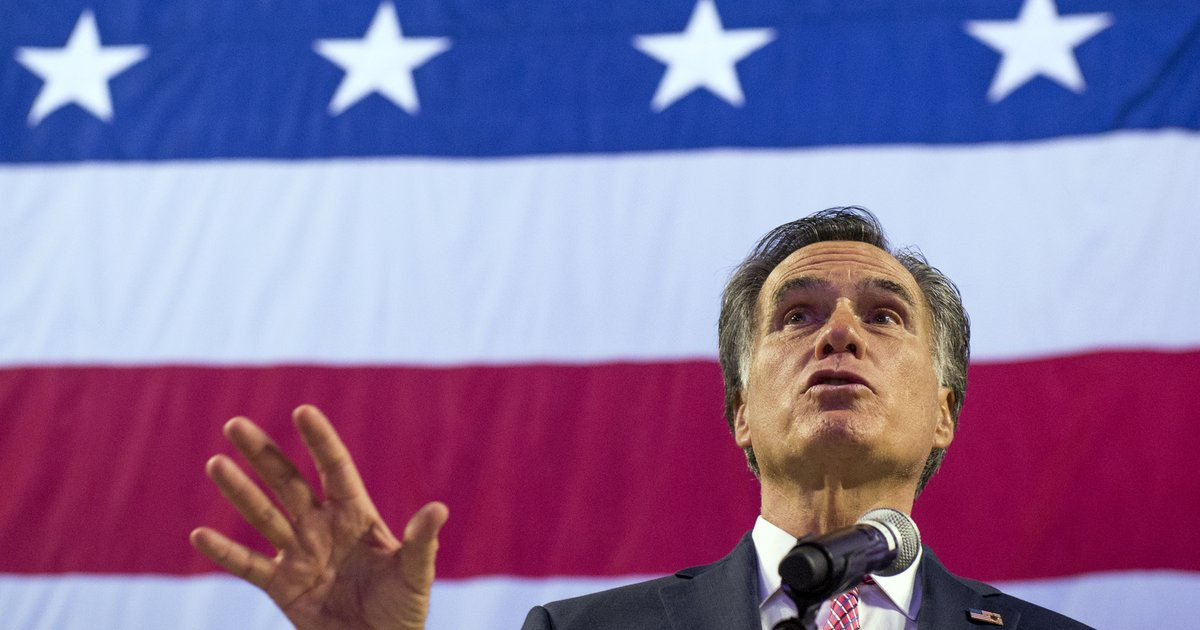 Commentary: U.S. Senate candidate Mitt Romney 'has more knowledge, ability and political capital than any Republican figure of our time'