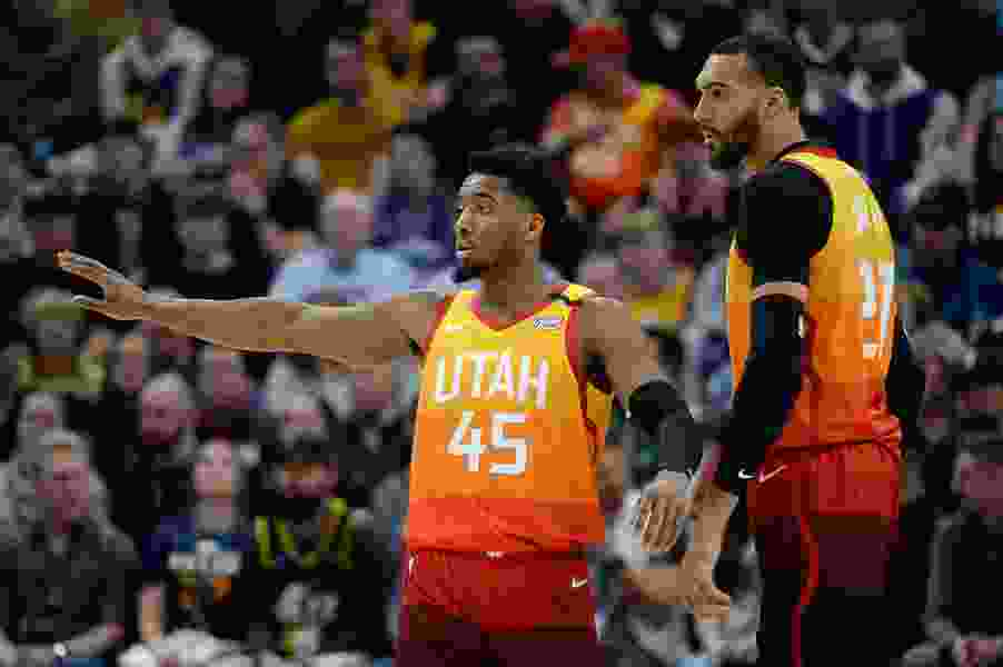 Utah Jazz coach Quin Snyder on the Rudy Gobert-Donovan Mitchell relationship: 'We're in good shape'