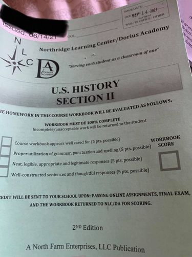 (Nancy McKendrick) This photo comes for a history packet that Nancy McKendrick's daughter received from Northridge Learning Center.