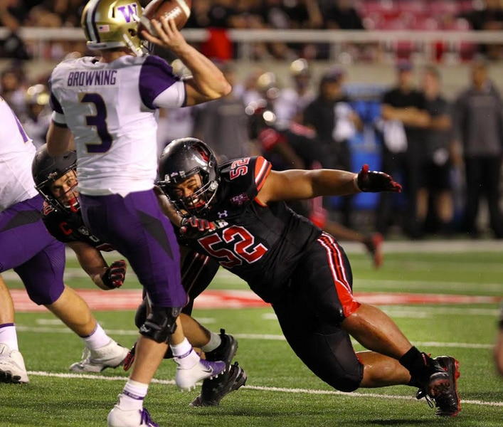 Utah defensive tackle John Penisini goes about his work quietly, but he's one of the Utes' top performers