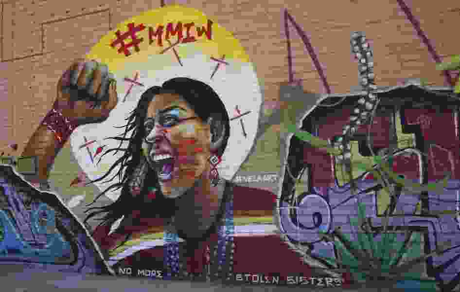 New Mexico mural focuses on missing Native American women