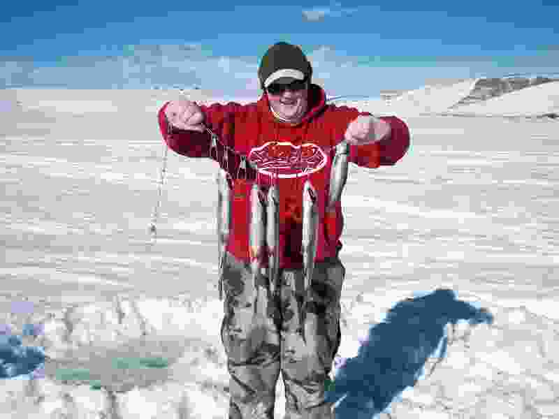 Forget the record-setting high temperatures of late, it's time to start thinking about ice fishing in Utah