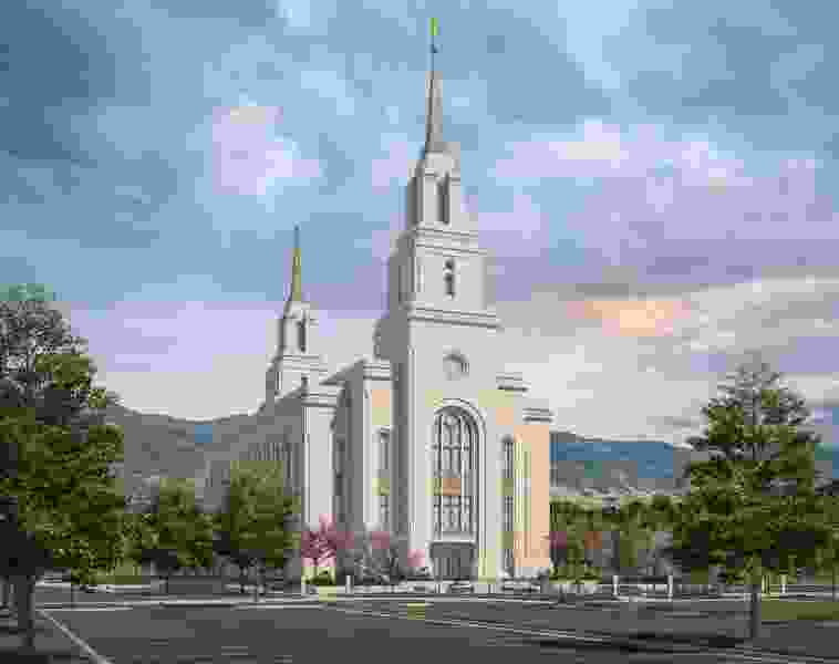 LDS Church releases rendering of its new Layton Temple