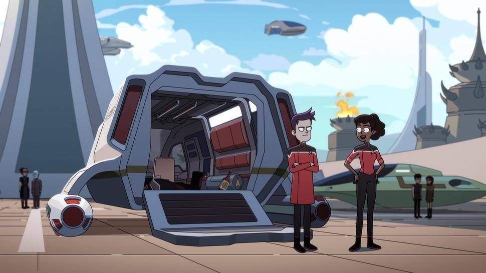 "(Courtesy of CBS) ""Star Trek: Lower Decks"" starts streaming Aug. 6 on CBS All Access."
