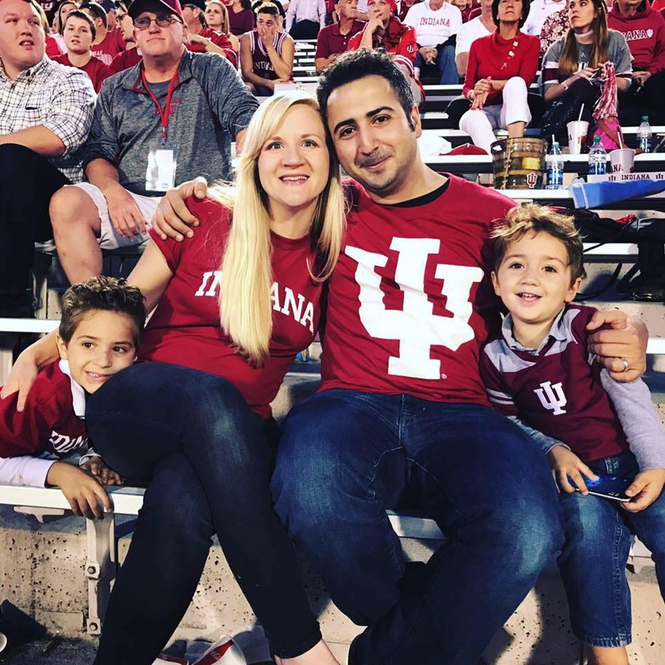 (Photo courtesy of Amy Arakelyan) Amy and Aram Arakelyan and their children at Indiana University, where he now teaches. Aram and Amy Arakelyan both say they were mistreated by faculty when they studied piano at Utah State University in the 2000s. USU granted Amy Arakelyan a degree after she made a complaint in 2015 about favoritism and discrimination in the department.