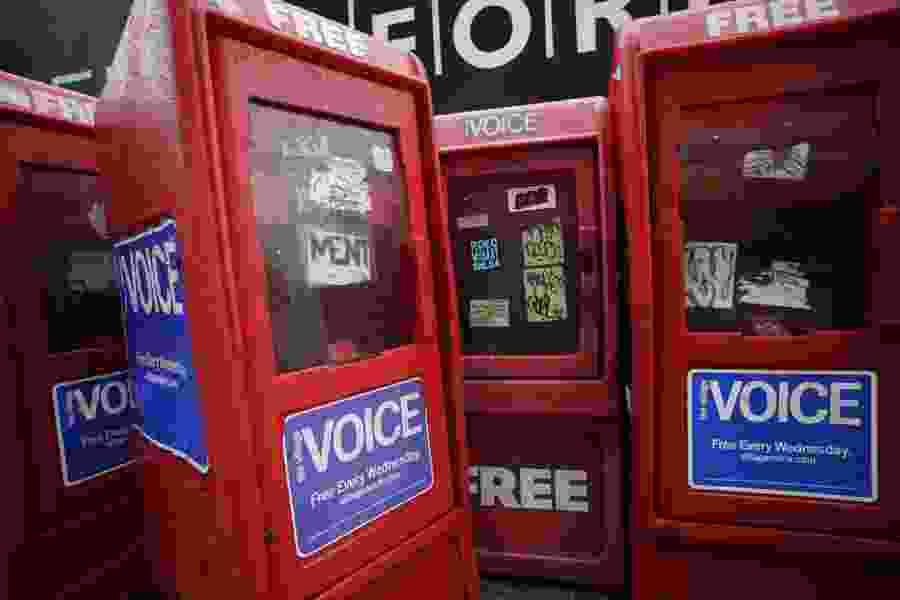 Groundbreaking alternative paper Village Voice shuts down