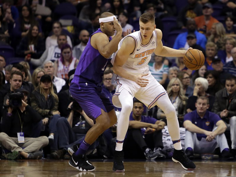 Walden  Is the Knicks  mind-blowing Porzingis trade the launch for a  potentially wild week leading up to the NBA trade deadline  Don t hold your  breath. dcda0447a