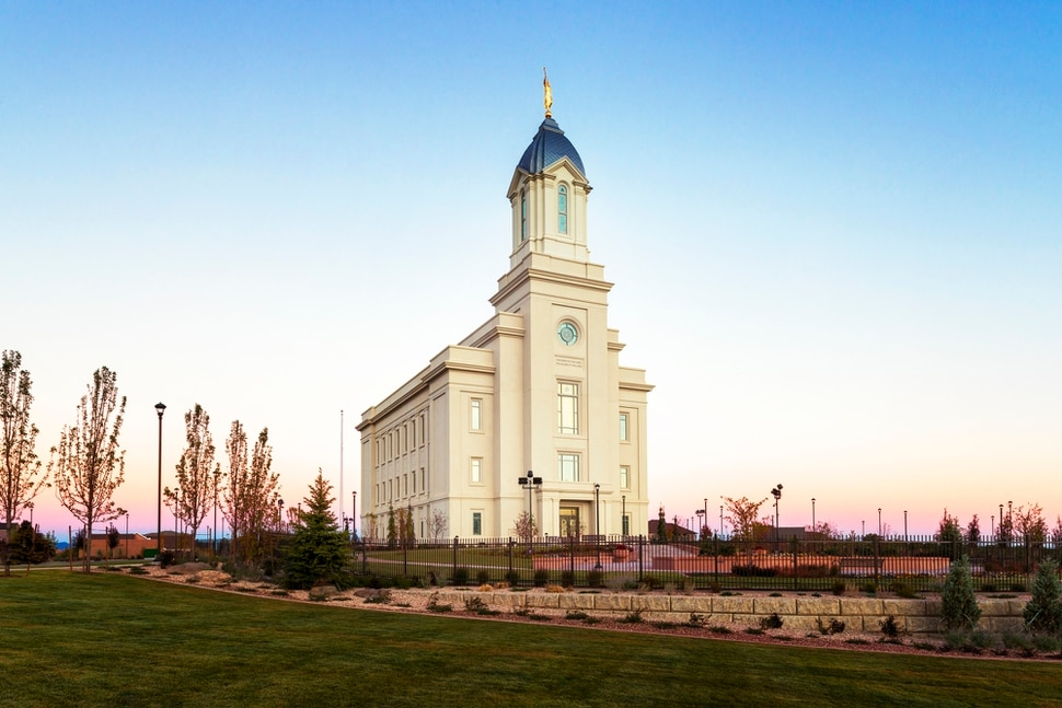 Mormon Temple Salt Lake City Interior