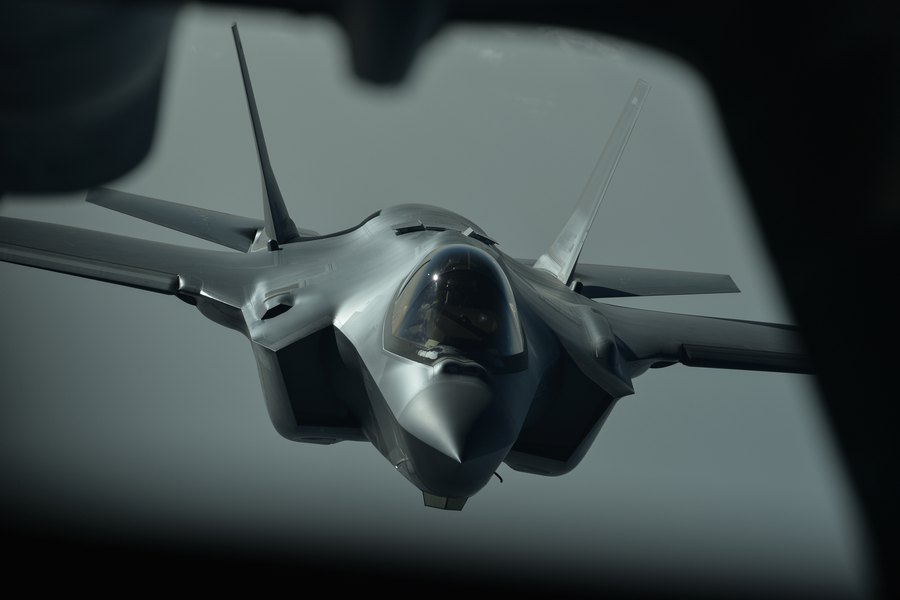 F-35 fighter jets from Hill Air Force Base deployed for first combat