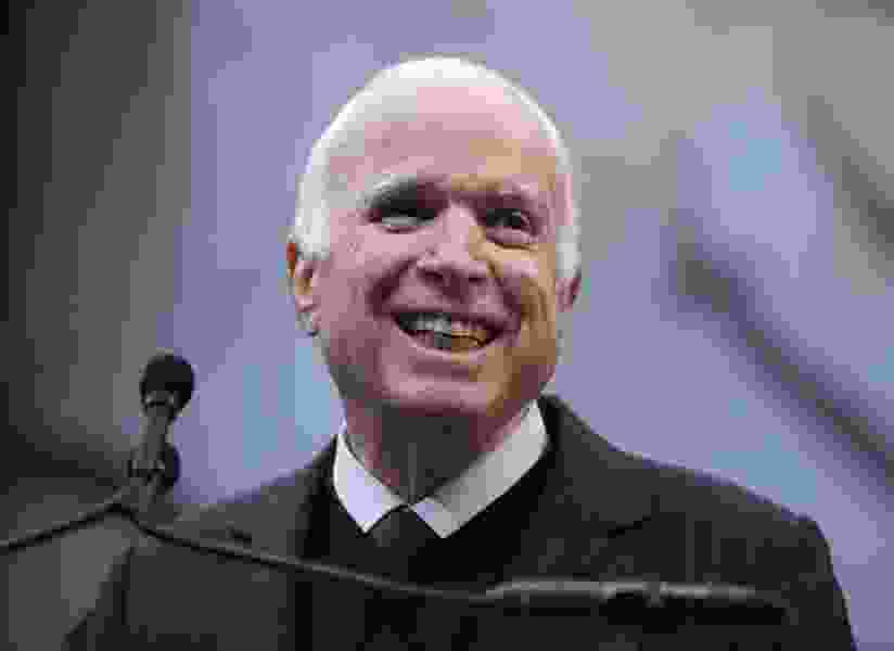 Son-in-law: Ailing McCain is 'chatty' and 'walking around'