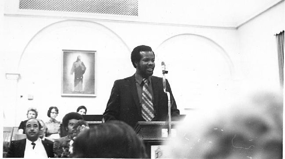 (Courtesy Darius Gray) Eugene Orr, a member of the presidency of the LDS Genesis Group for black Mormons in the 1970s