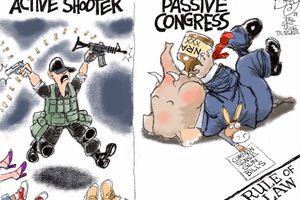 Active Shooter | Pat Bagley