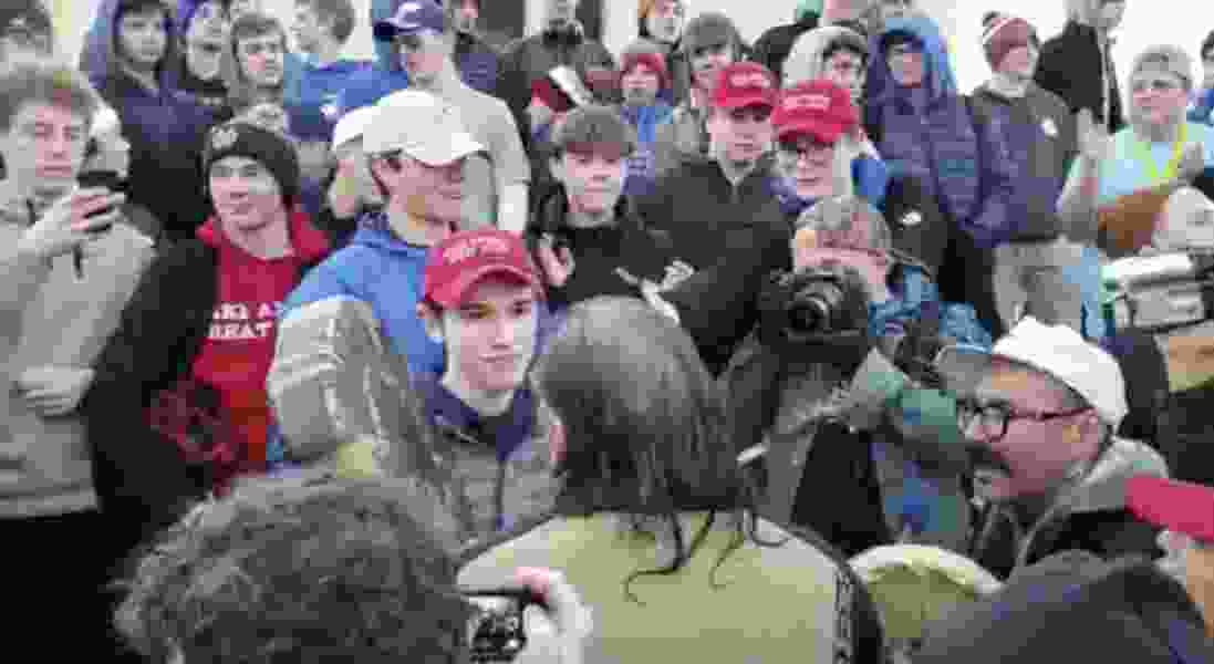 Diocese probe finds no evidence of 'racist or offensive statements' by Covington Catholic students during Mall incident