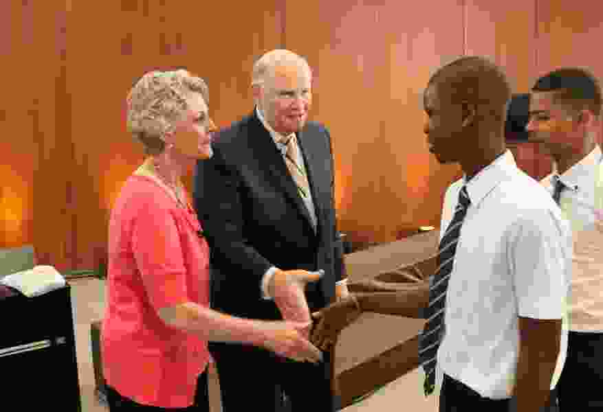 Mormon apostle answers African youths' questions in historic broadcast