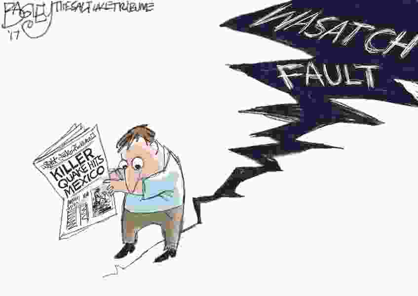 Bagley Cartoon: It's Our Fault