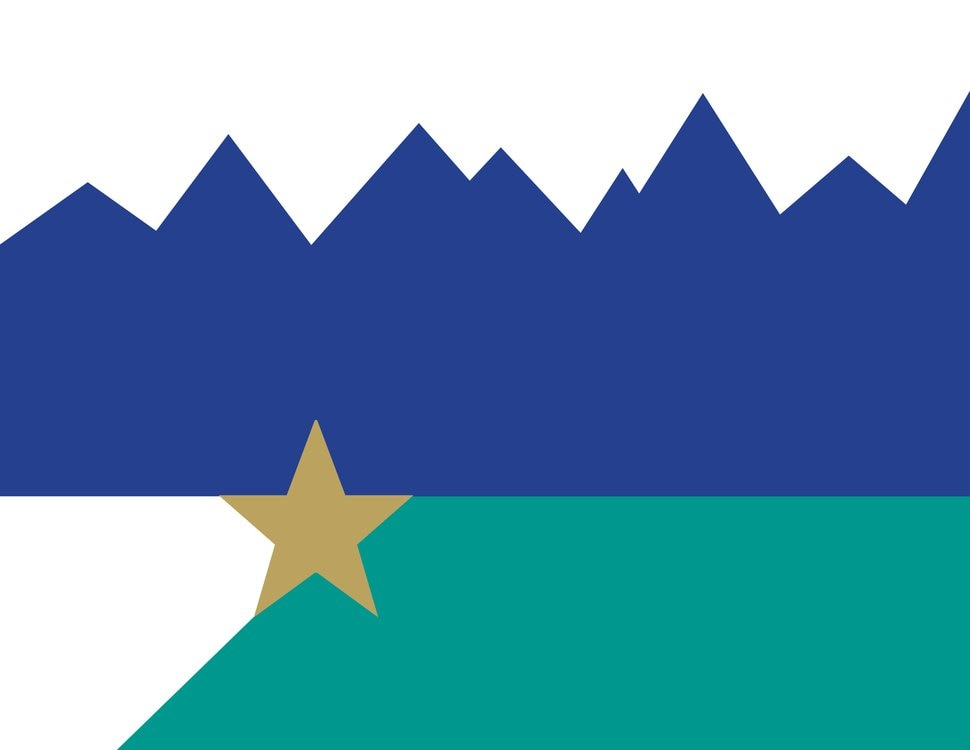 (Courtesy of the Merrill Family) A proposed Salt Lake City flag designed by the Merrill Family.
