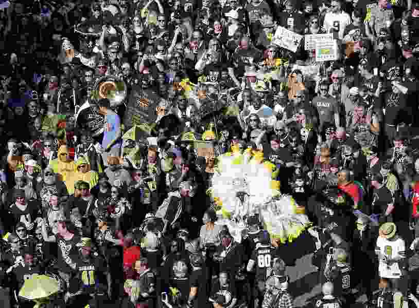Thousands who attended New Orleans Super Bowl protest raised $57,000