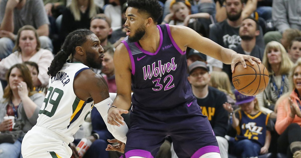 5b364e5a80c5 The Triple Team  Rudy Gobert proves that a matchup is more than the box  score stats by leading Jazz to 20-point win over Towns  Timberwolves