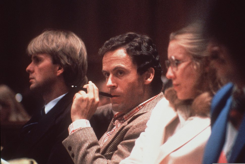 (Associated Press file photo) Convicted murderer Ted Bundy, seen here in a Miami courtroom in 1979.