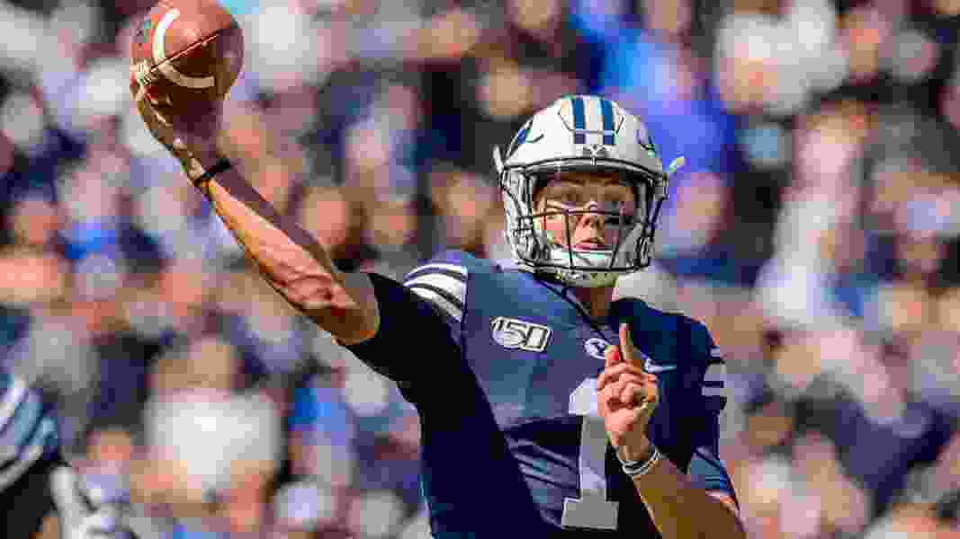 Healthy once again, BYU quarterback Zach Wilson is sharpening his skills, preparing for the QB battle to come