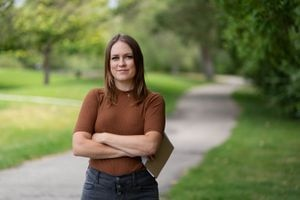 (Francisco Kjolseth | The Salt Lake Tribune) Jessica Miller has been a criminal justice reporter at The Tribune for 10 years. She helped form the news organization's mugshot policy.