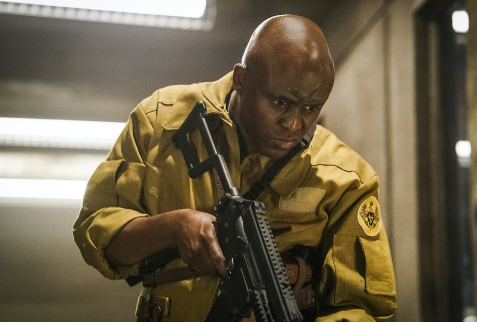 (Photo courtesy of Annette Brown | The CW) Wayne Brady as Gravedigger in