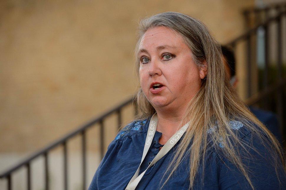 (Trent Nelson | The Salt Lake Tribune) Melissa Ford, president of the Salt Lake City School District Board of Education, pictured on Thursday, July 30, 2020.