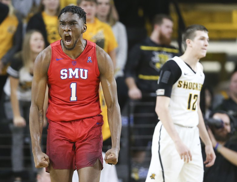 the best attitude a97c0 89b77 SMU guard Shake Milton among draft prospects at Jazz's ...