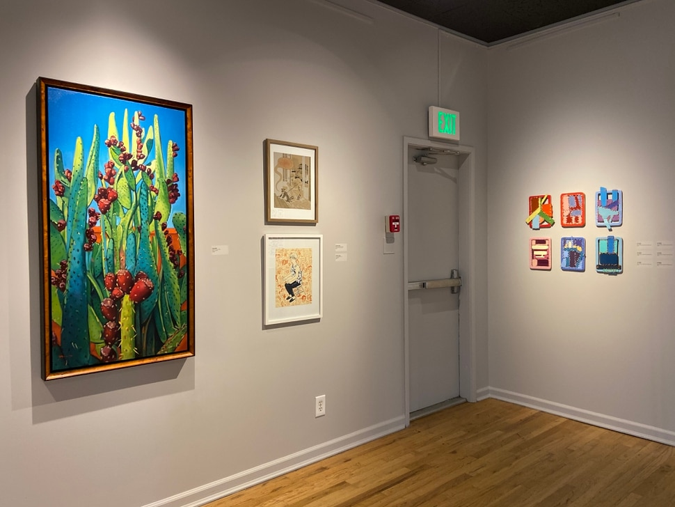 (Photo courtesy of the Salt Lake City Arts Council/Sarah Hobin) The 35x35 exhibition at the Finch Lane Gallery has been unable to open because of the coronavirus pandemic.