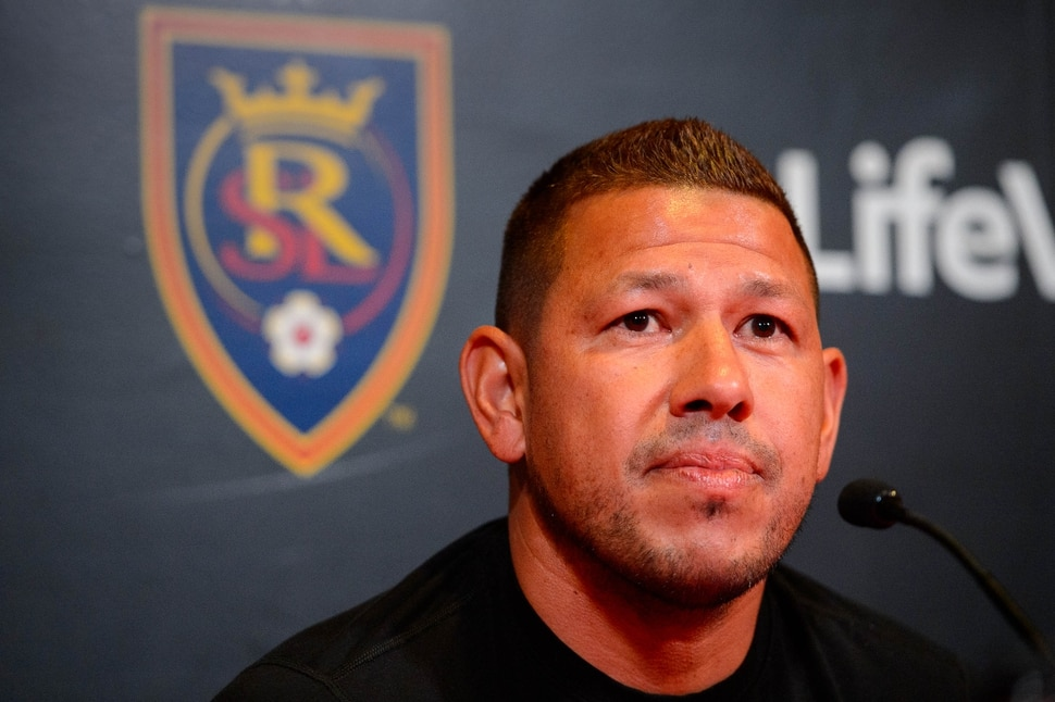 (Trent Nelson | The Salt Lake Tribune) Real Salt Lake goalkeeper Nick Rimando talks about his his final regular season home match this weekend, during a news conference in Sandy on Friday Sept. 27, 2019.