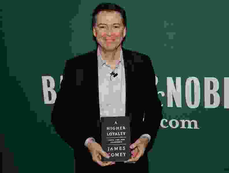 Comey book sells more than 600,000 copies in first week