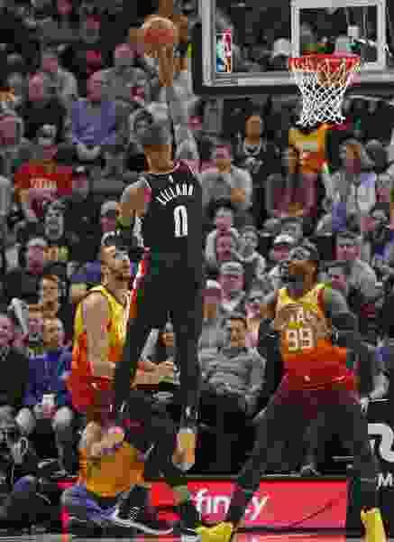 Portland beats Utah 109-104, snapping the Jazz's six-game win streak